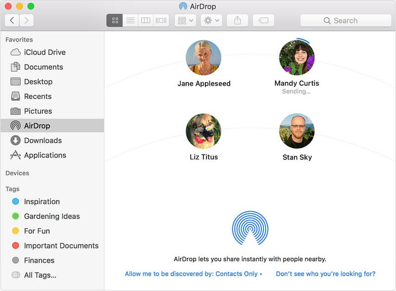 Airdrop On Mac
