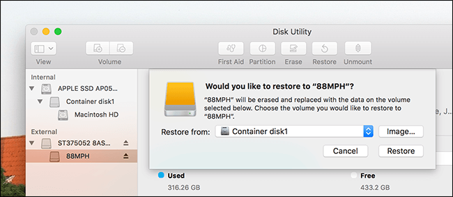 Check Available Disk Space Mac Disk Utility