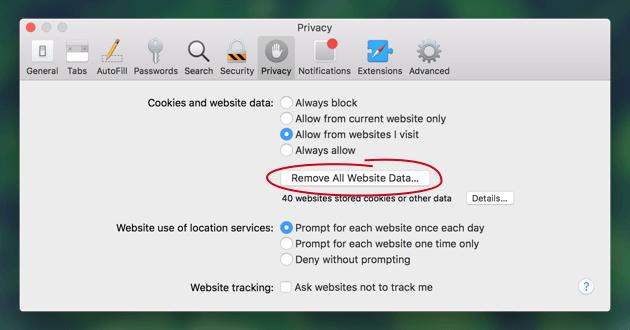 Comment effacer l'historique de la confidentialité de Chrome