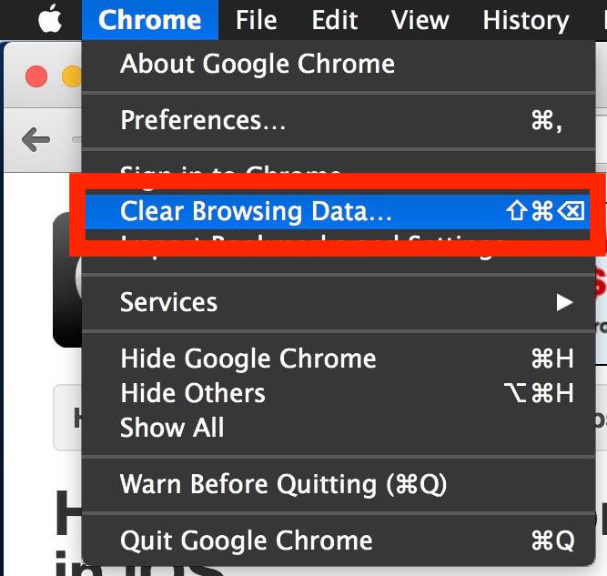 Comment effacer l'historique sur Chrome