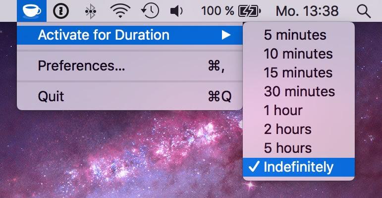 Cómo mantener a Mac de la duración del sueño