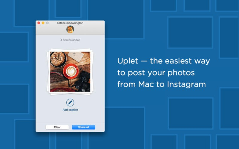 Post On Instagram From Mac Uplet
