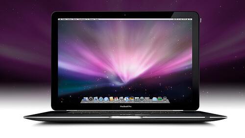 Schermo nero riparato per Macbook Pro