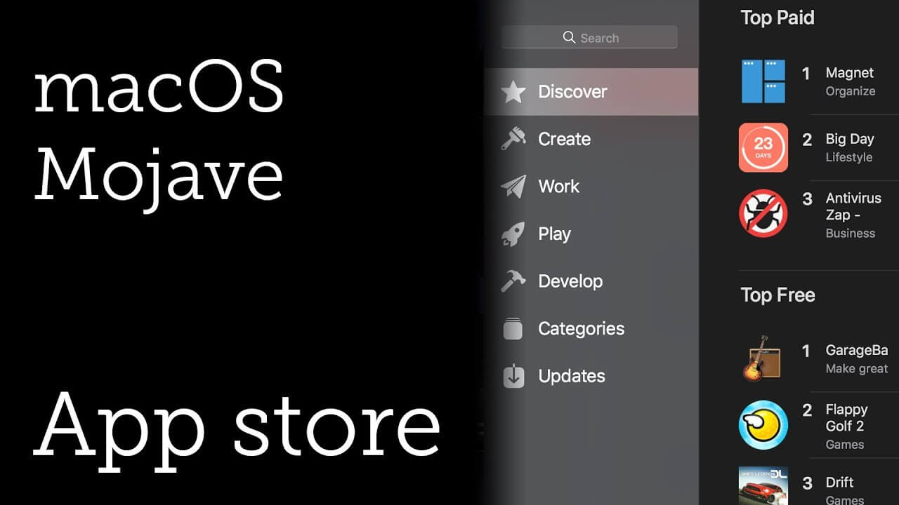 What New Macos Mojave App Store