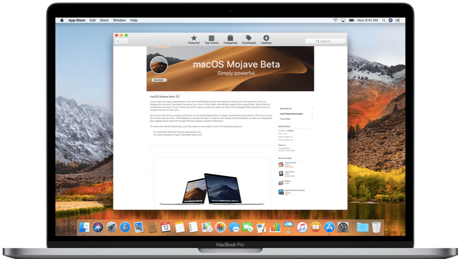 What New Macos Mojave Desktop