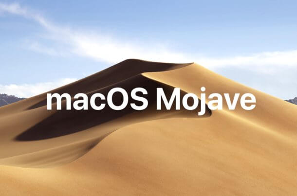 What New Macos Mojave Mojave