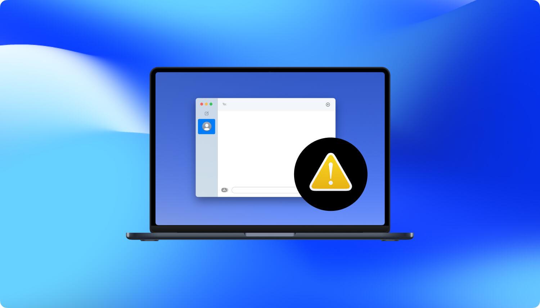 修复imessage无法在Mac上运行