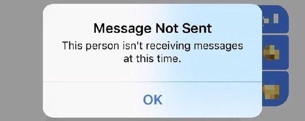 Messaggio non inviato