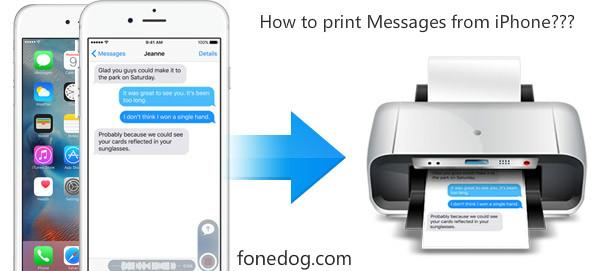 Por qué necesitamos imprimir mensajes de texto desde iPhone