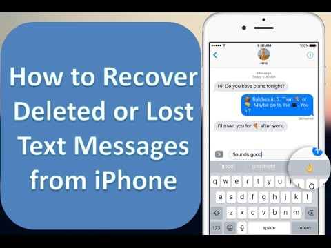 使用Best iPhone Text Recovery恢復短信