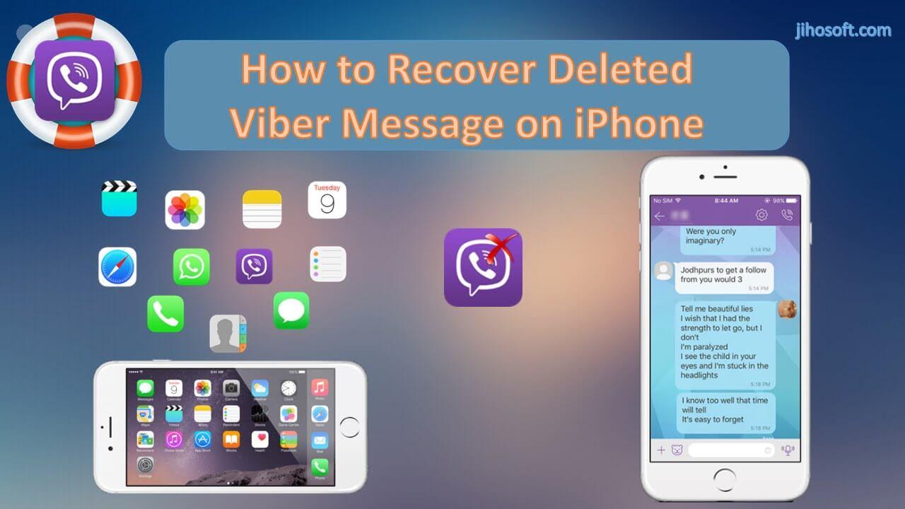 Viberメッセージを回復する