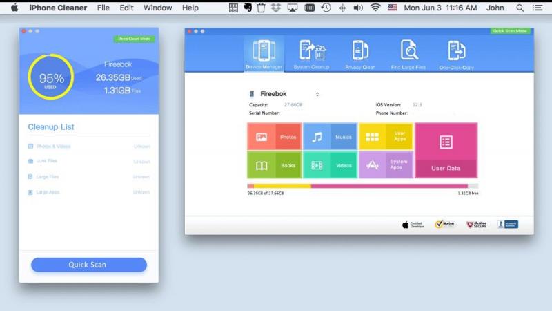 최고의 iPhone 데이터 지우개 소프트웨어 CleanMyPhone