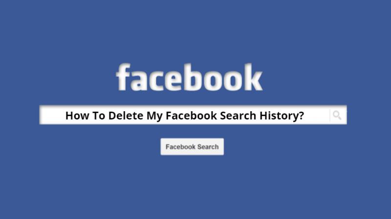 검색 필드를 사용하여 Facebook 검색 기록 지우기