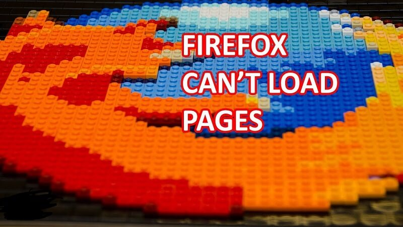 Firefox Not Loading Pages Firefox