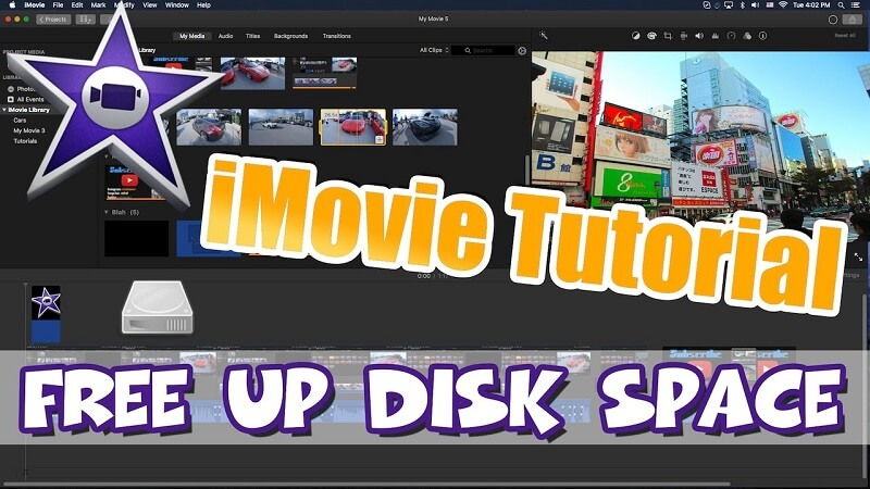 Imovie Not Enough Disk Space Solve