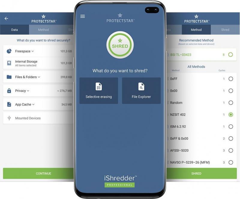 최고의 iPhone 데이터 지우개 소프트웨어 iShredder