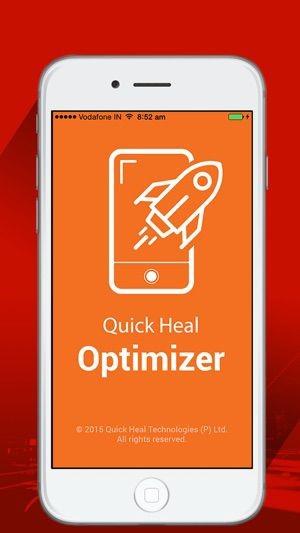 최고의 iPhone 데이터 지우개 소프트웨어 Quick Heal Optimizer