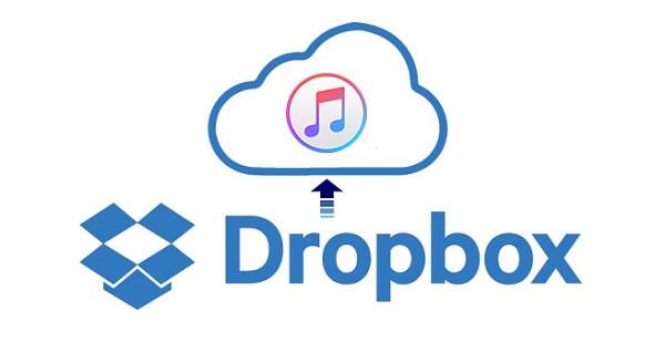 Transférer de la musique Dropbox