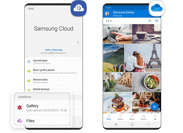 Transfer Samsung Files with Samsung Cloud