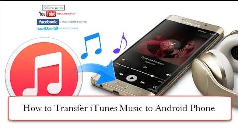 將音樂傳輸到Android