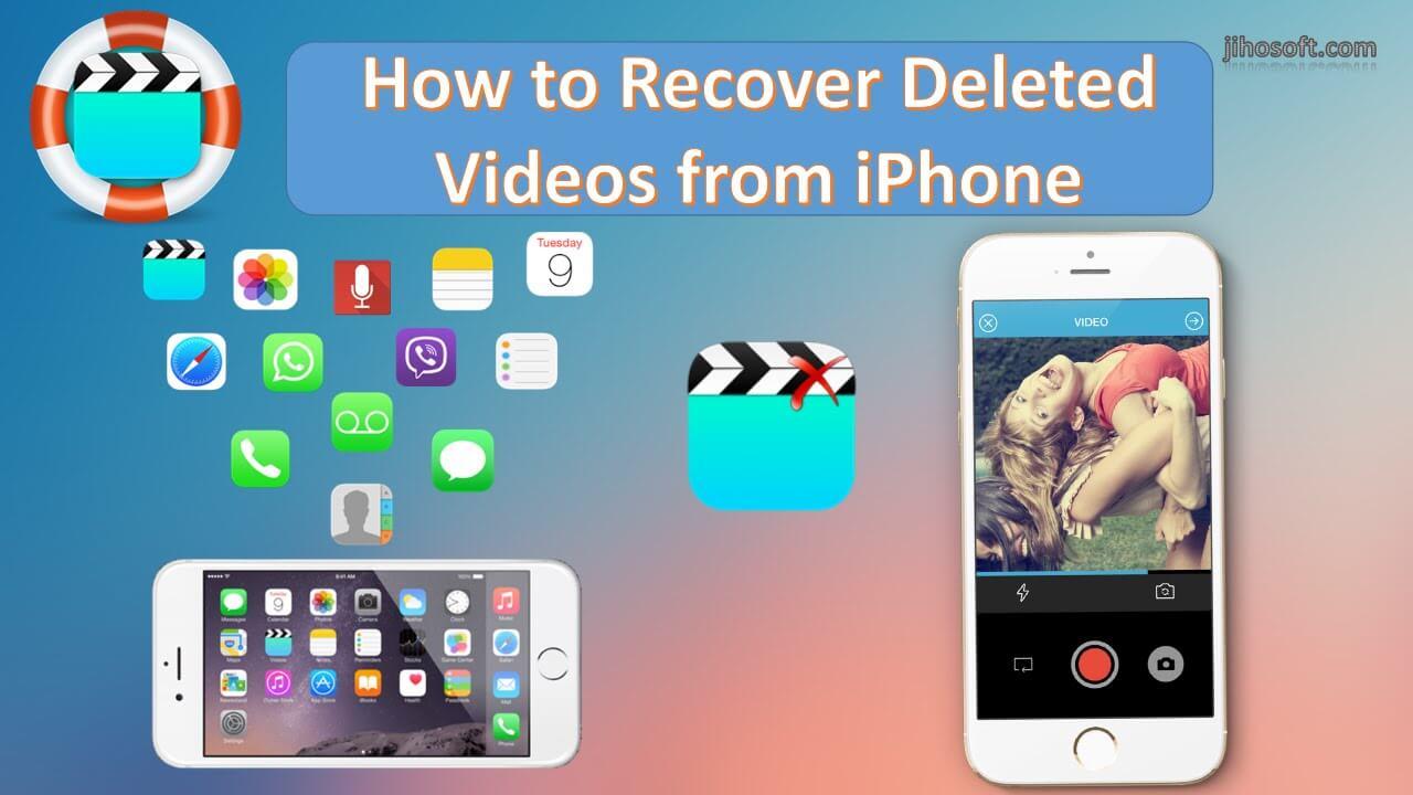 Récupérer une vidéo supprimée à partir d'Iphone 1