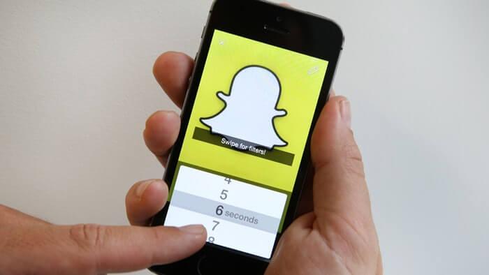 Snapchat标志