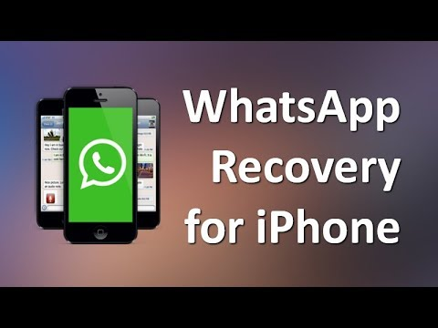 Use Whatsapp Recovery for iPhone X/8/7/6s