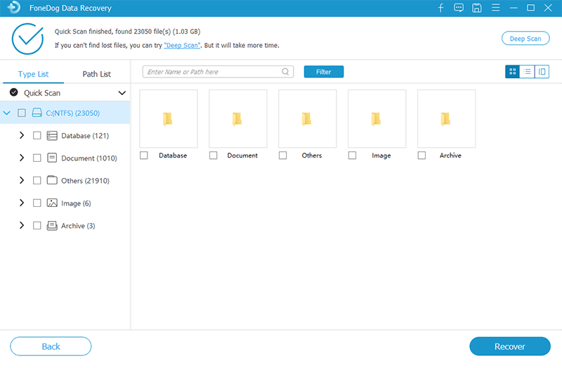 Preview and Selectively Choose Recovered Files